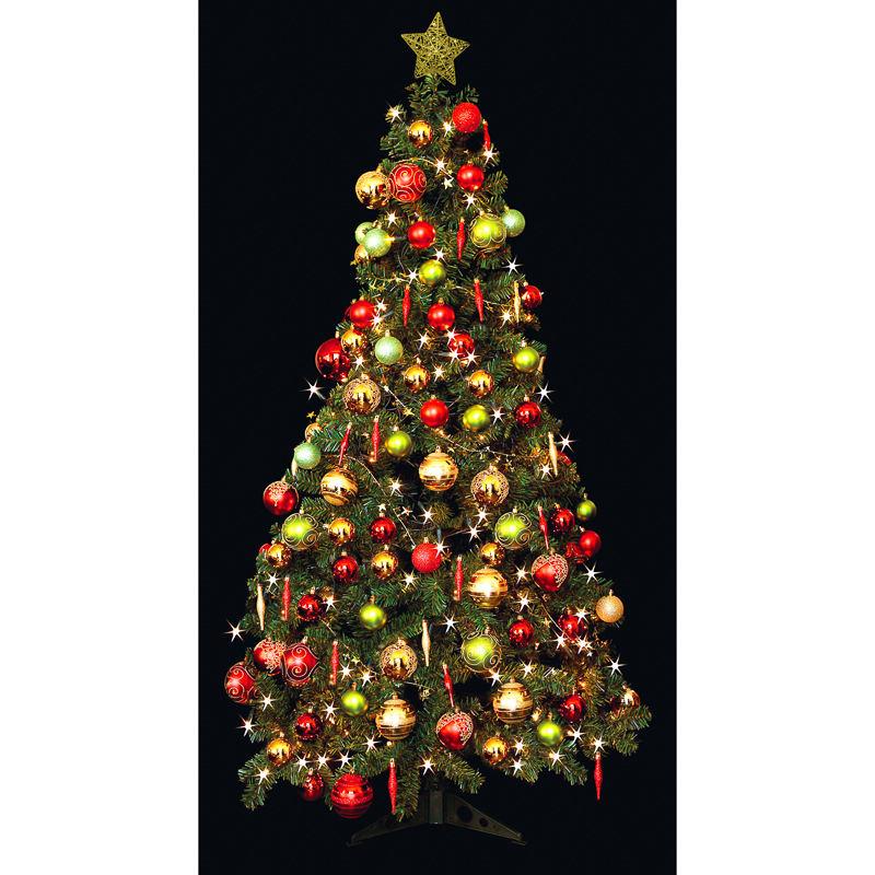 Deluxe Christmas Green Tree 6ft Christmas Tree