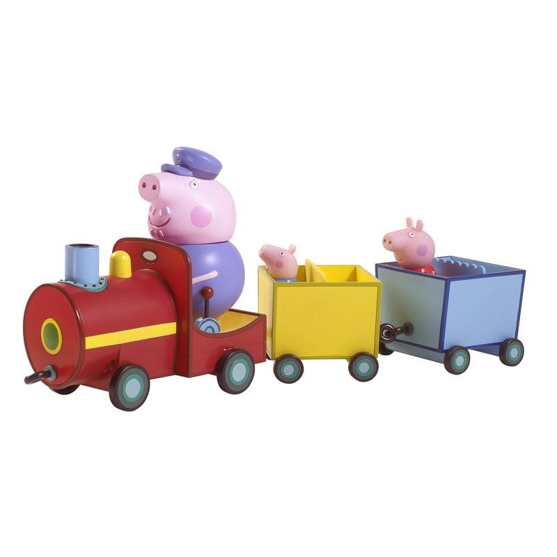 B Amp M Peppa Pig On Grandpa Pig S Train 238248 B Amp M