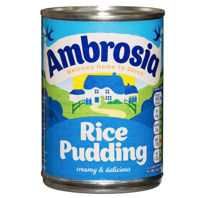 Ambrosia Rice Pudding 400g Dessert Groceries