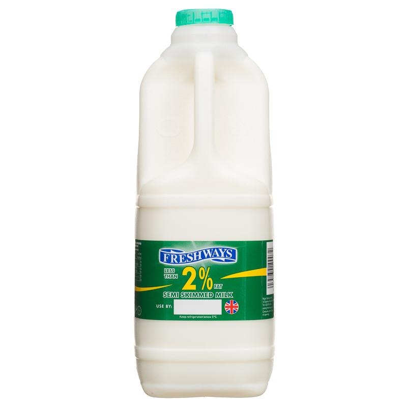 B Amp M Freshways Semi Skimmed Milk 2l 240424 B Amp M