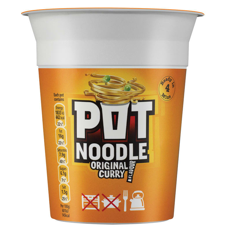 Pot Noodle Original Curry Flavour 90g