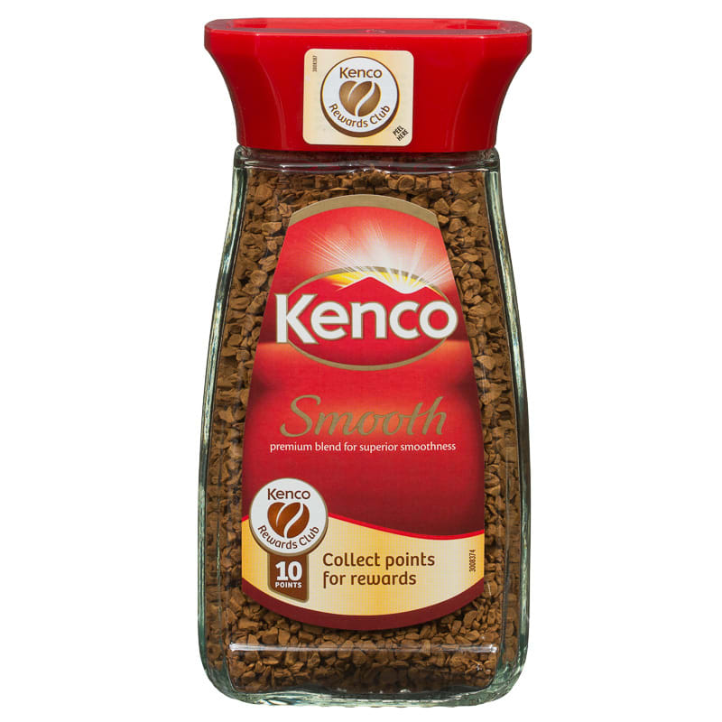 B Amp M Kenco Smooth Instant Coffee 100g 243272 B Amp M