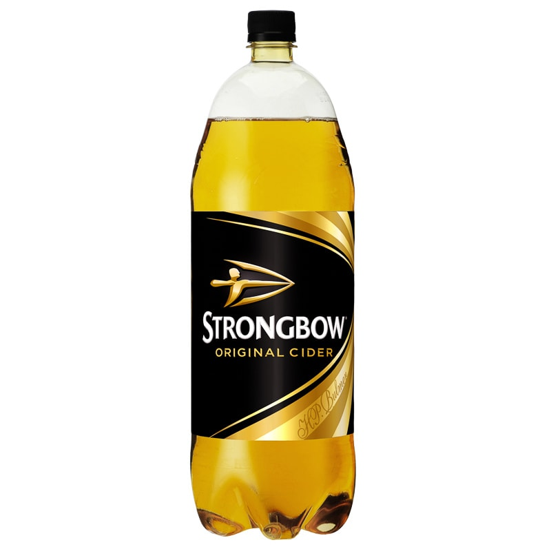 Strongbow Original Cider Pet 2l Alcohol Beer Amp Cider