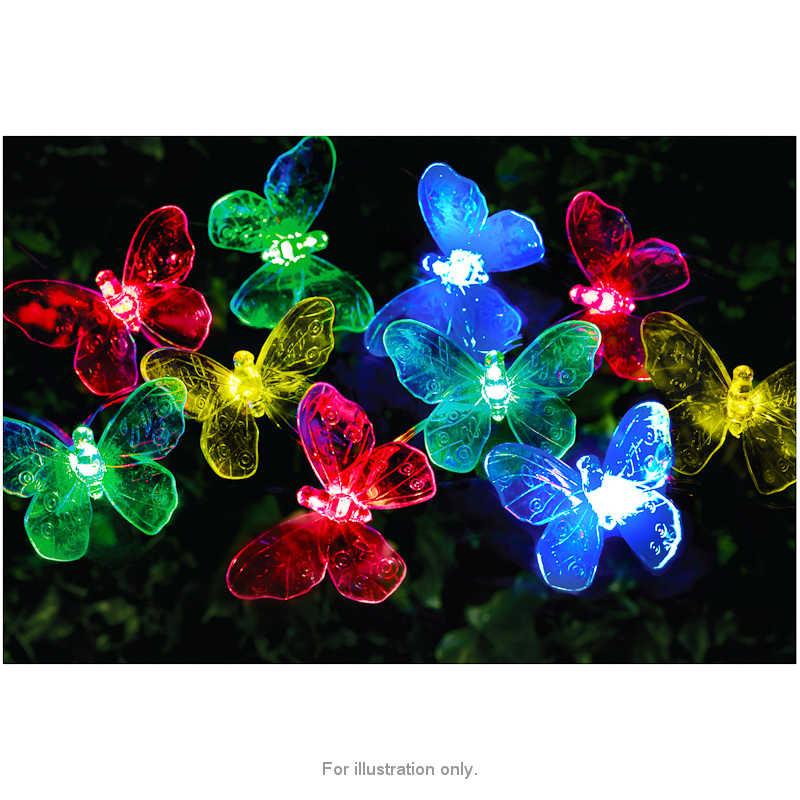 20 LED Butterfly Solar String Lights