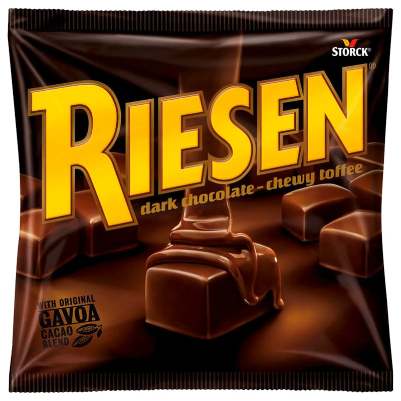 Riesen Dark Chocolate Toffee 135g