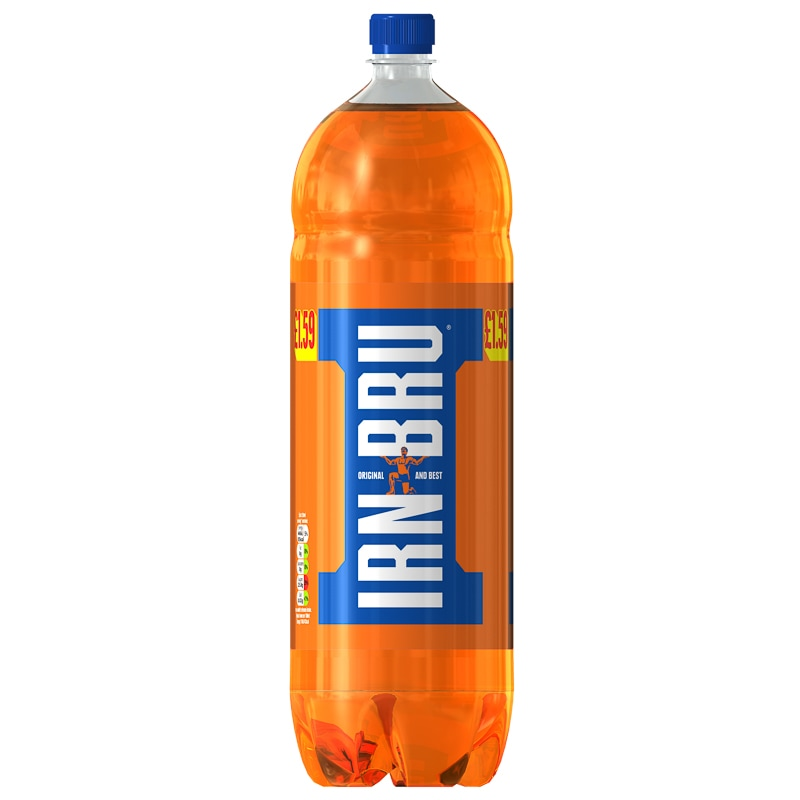 Irn Bru Regular 2l Soft Drinks B Amp M Stores