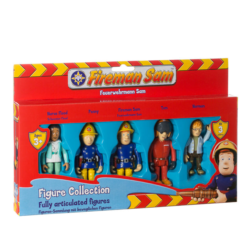 B Amp M Fireman Sam Fully Articulated Figure Collection