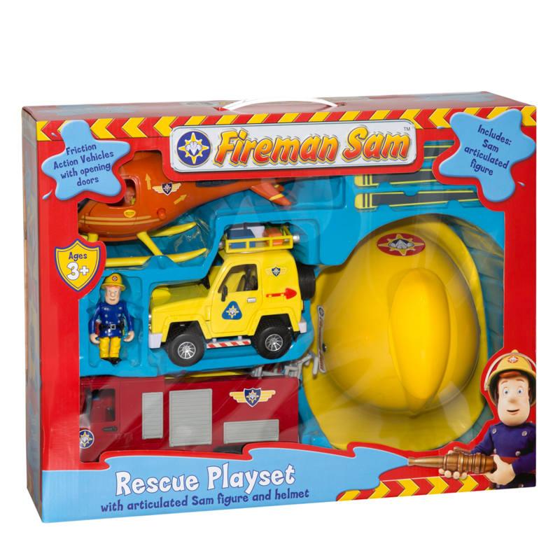 B Amp M Fireman Sam Rescue Playset 246396 B Amp M