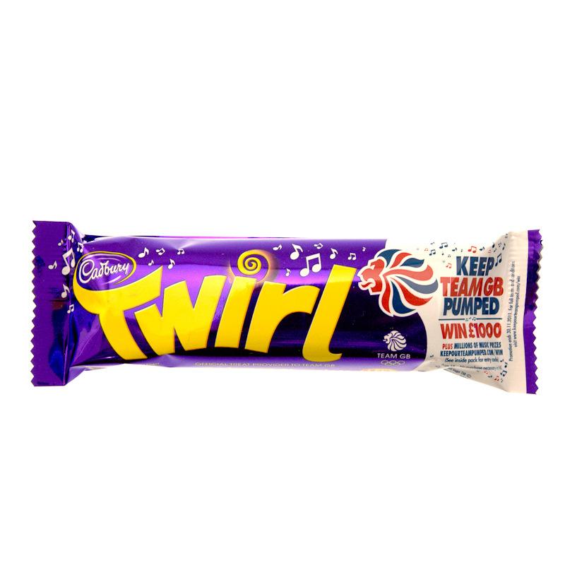 Home Food & Drink Chocolates Cadbury Twirl