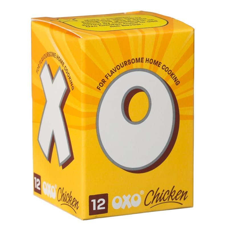 B&M OXO Cubes 12's Chicken