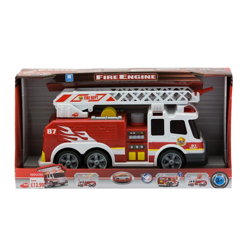 b m dickie fire engine 247806. Black Bedroom Furniture Sets. Home Design Ideas