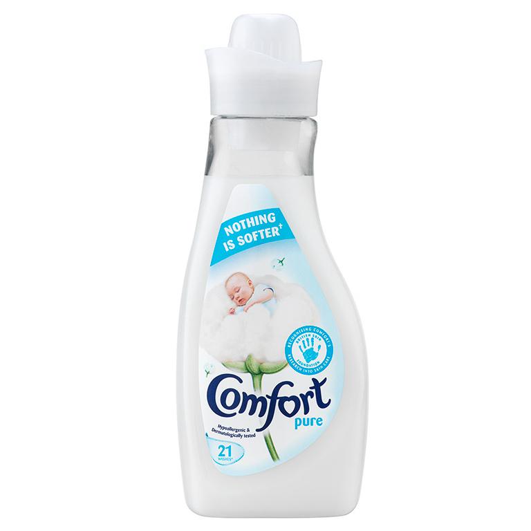 Comfort Pure Fabric Conditioner 21 Wash 750ml Fabric