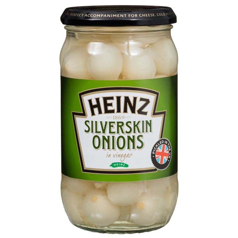 Heinz Silverskin Onions In Vinegar 400g Pickled Onions