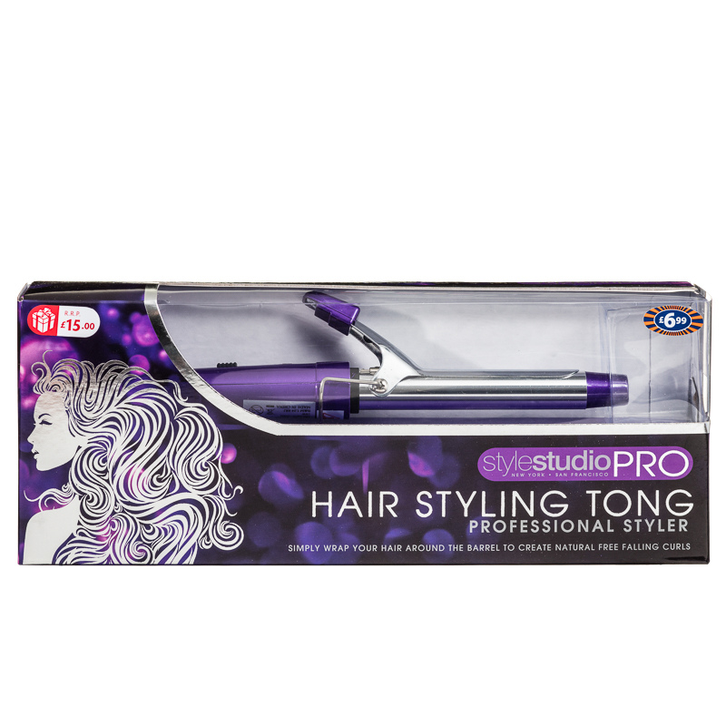 hair styling tongs hair styling tong hair care straighteners hair curlers 8233 | 250546 Hair Styling Tong Professional Styler purple1