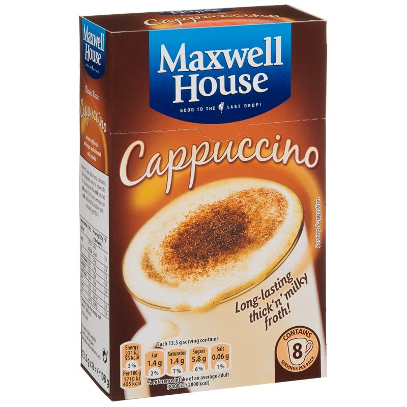 253614 Maxwell House Cappuccino 108g