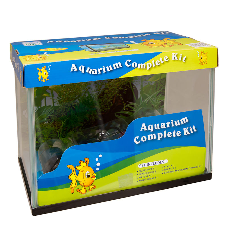 B m aquarium complete kit 253947 for Fish tank starter kit