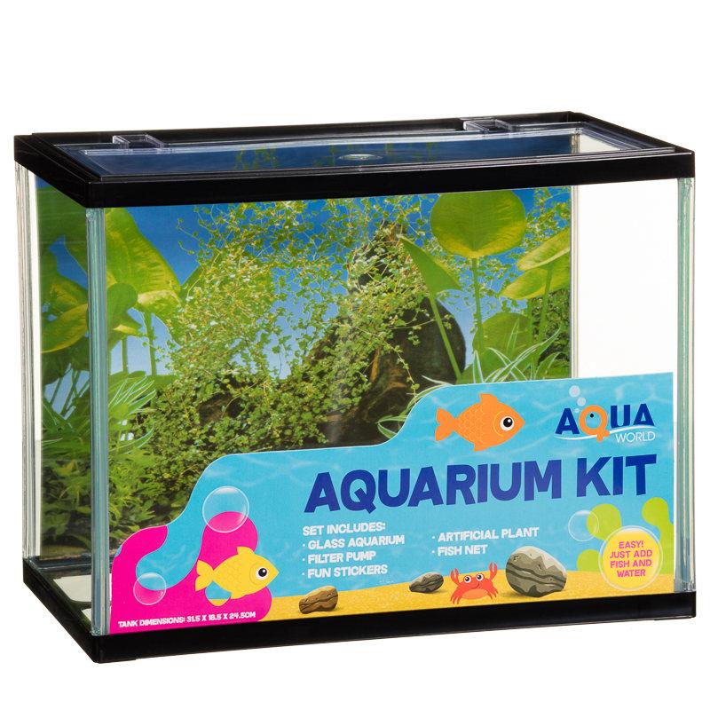 Aquarium Kit Pets Fish Tank