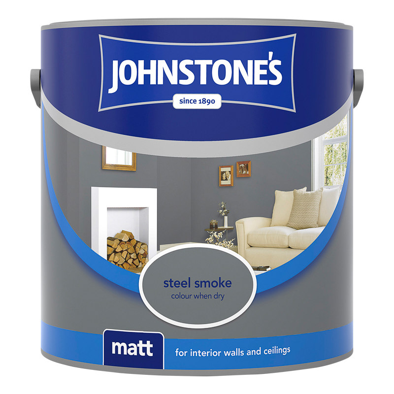 Bathroom Paint Matt: Johnstone's Paint Vinyl Matt Emulsion