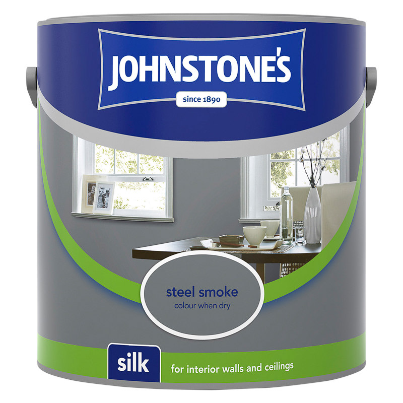 255316 Johnstones Vinyl Silk Emulsion Steel Smoke 2