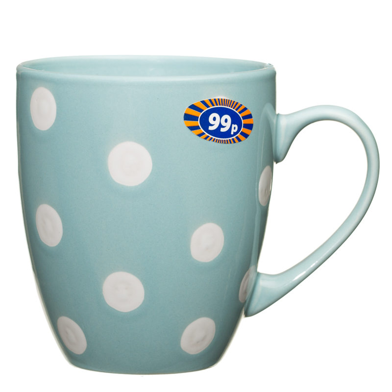 Spotty Mug Duck Egg Blue 2570691 B Amp M