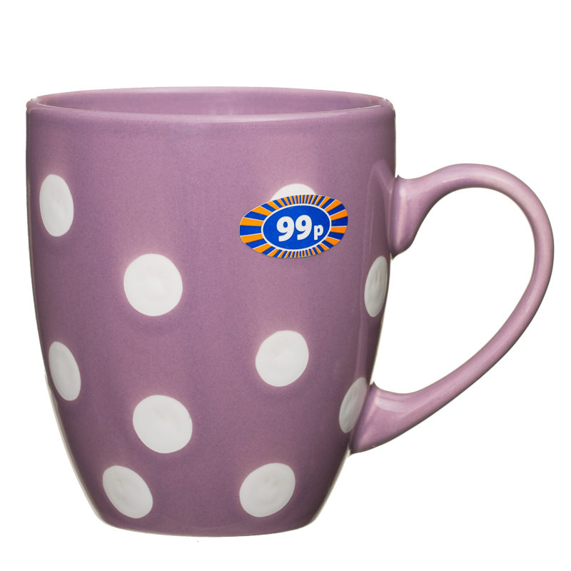 Spotty Mug Purple 2570693 B M