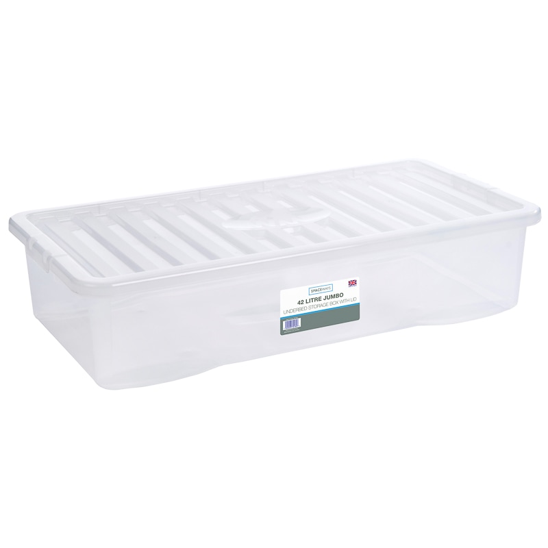 Jumbo Underbed Storage Box with Lid