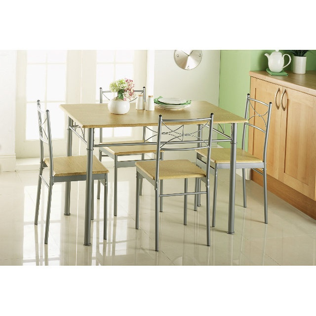 B Amp M Gt Carolina 5 Piece Dining Set 258432