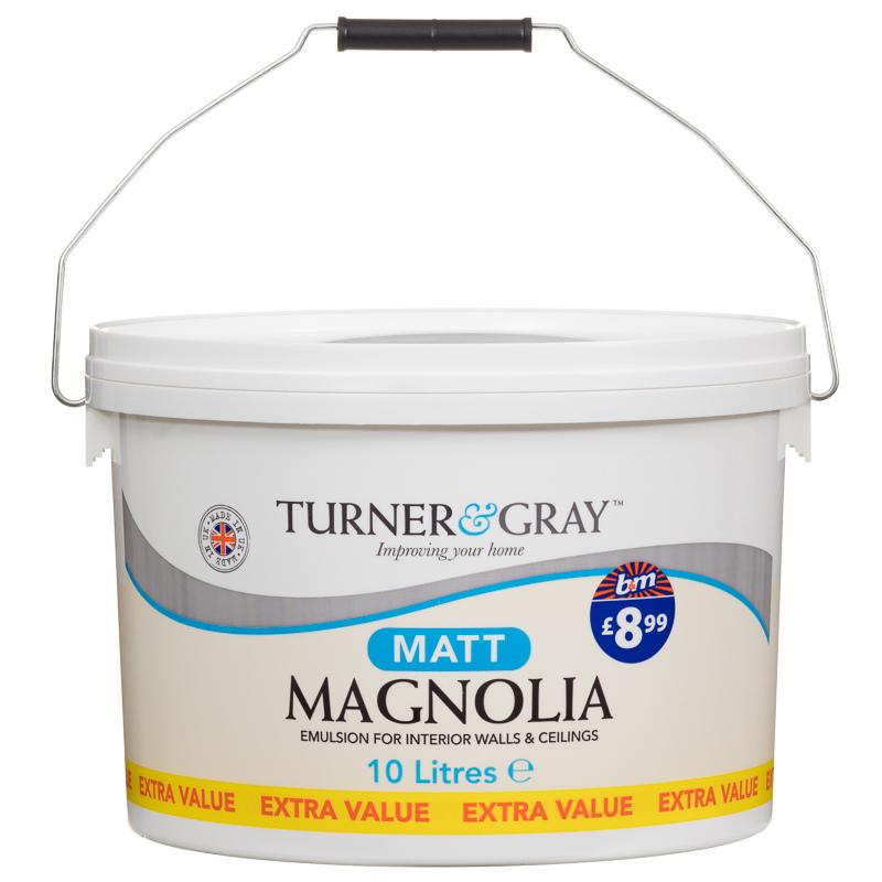 Matt Emulsion Paint Magnolia L