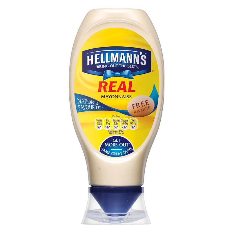 B Amp M Gt Hellmann S Real Mayonnaise Squeezy 750ml 258754