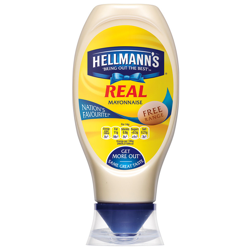 Hellmann's Real Mayonnaise Squeezy 750ml