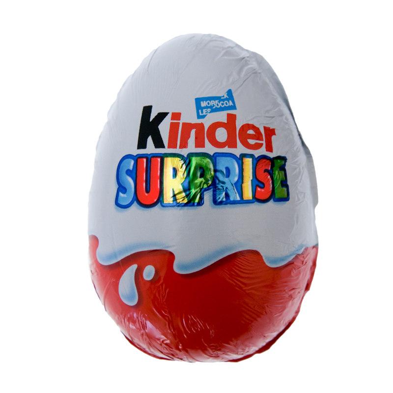 Home Food & Drink Chocolates Kinder Surprise Egg