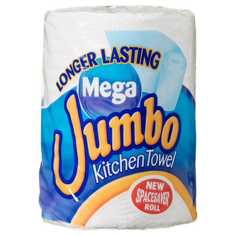 Jumbo Kitchen Roll | Household Cleaning Essentials