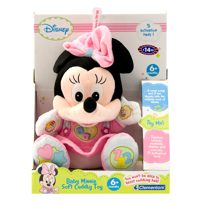 Mickey Amp Minnie Mouse Soft Cuddly Toy Soft Toys Kids