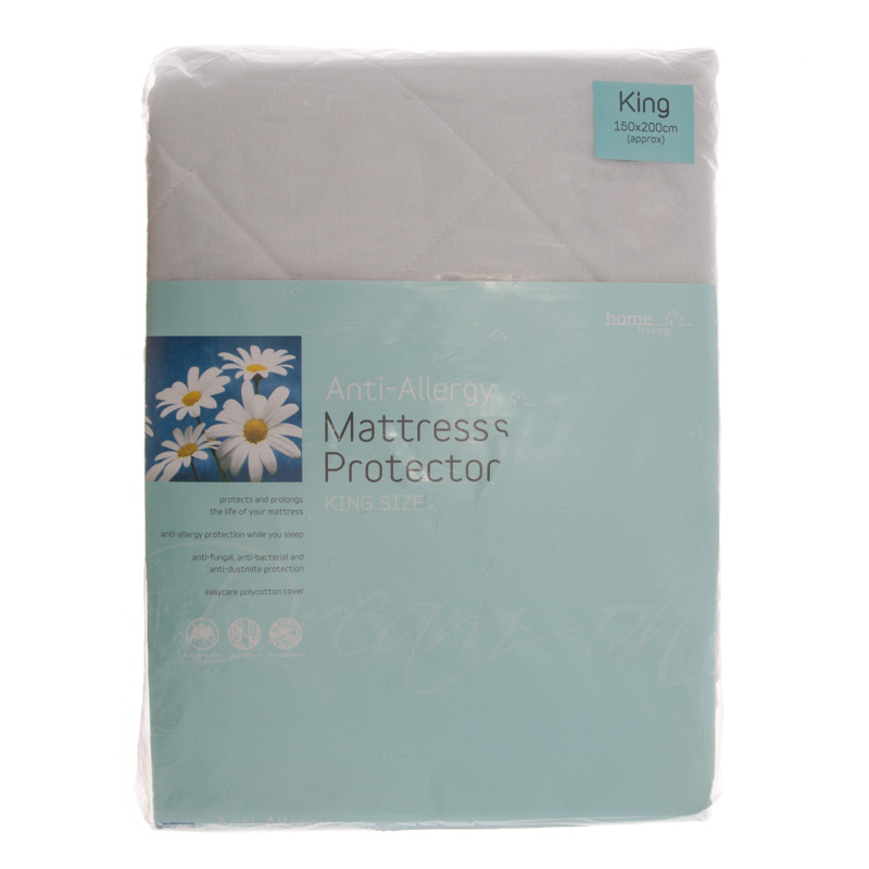 B&M Anti Allergy Mattress Protector King