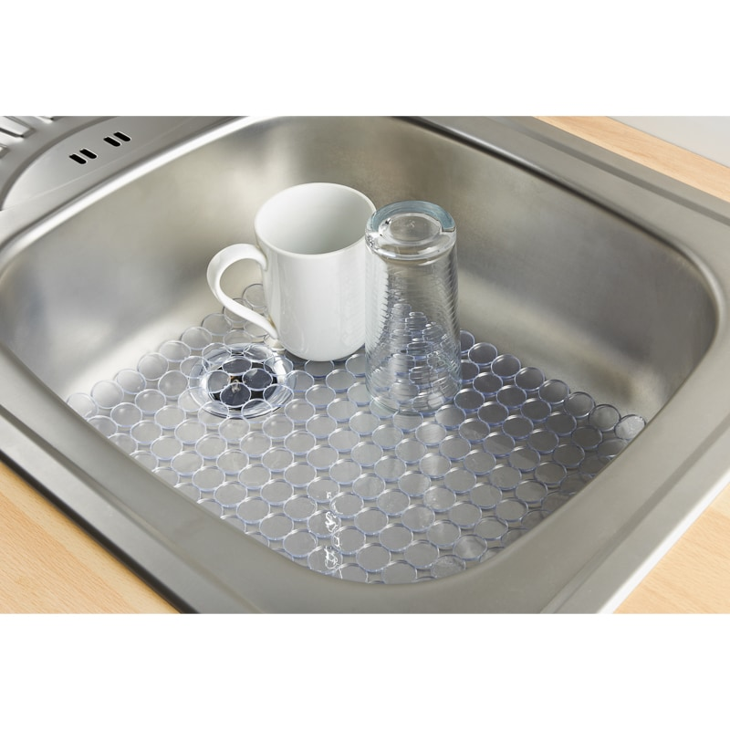 Addis Cushioned Sink Protector Home Kitchen B M