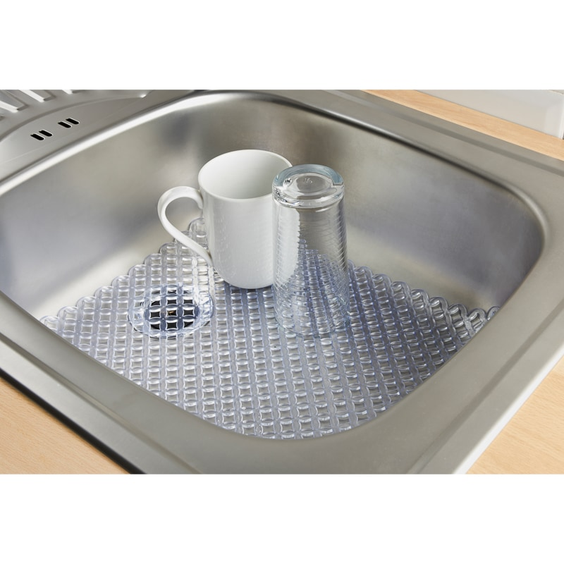 Addis Cushioned Sink Protector Home Kitchen B Amp M