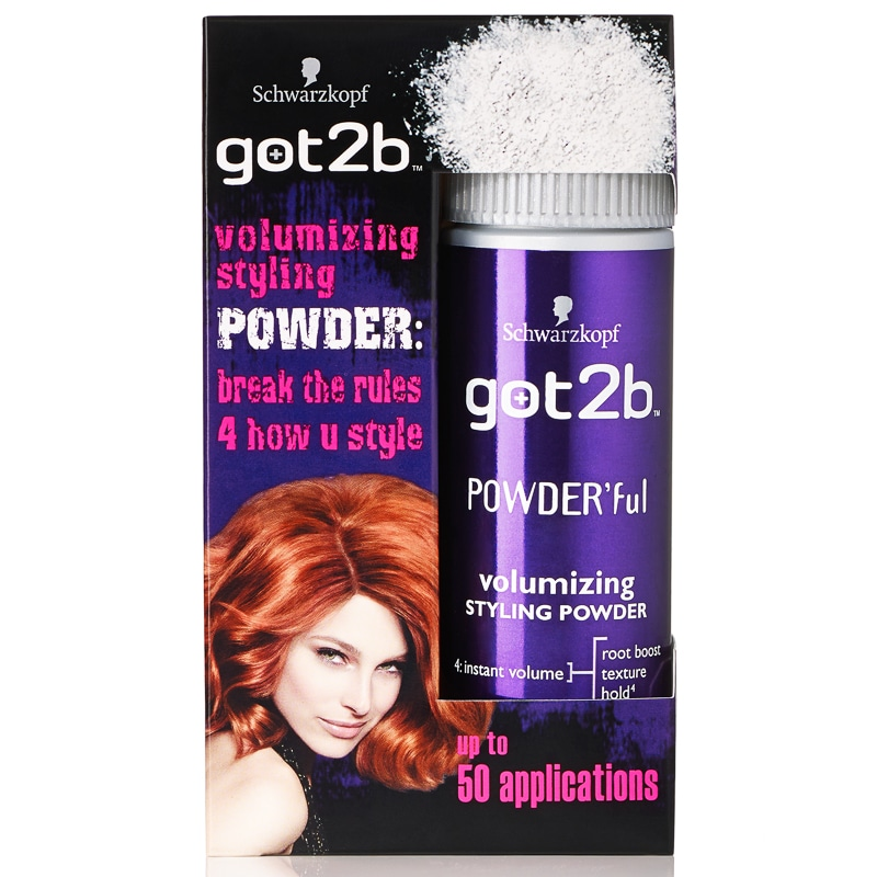 powder for hair styling schwarzkopf got2b volumizing styling powder hair care b amp m 7966