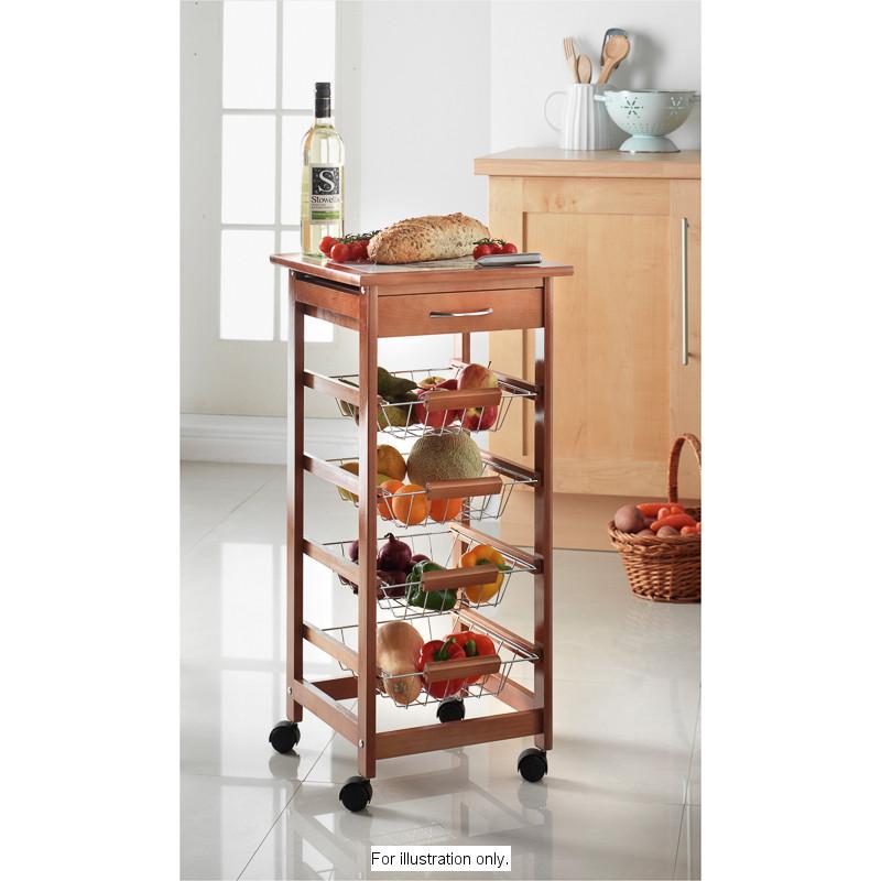 B M Kitchen Trolley 262254