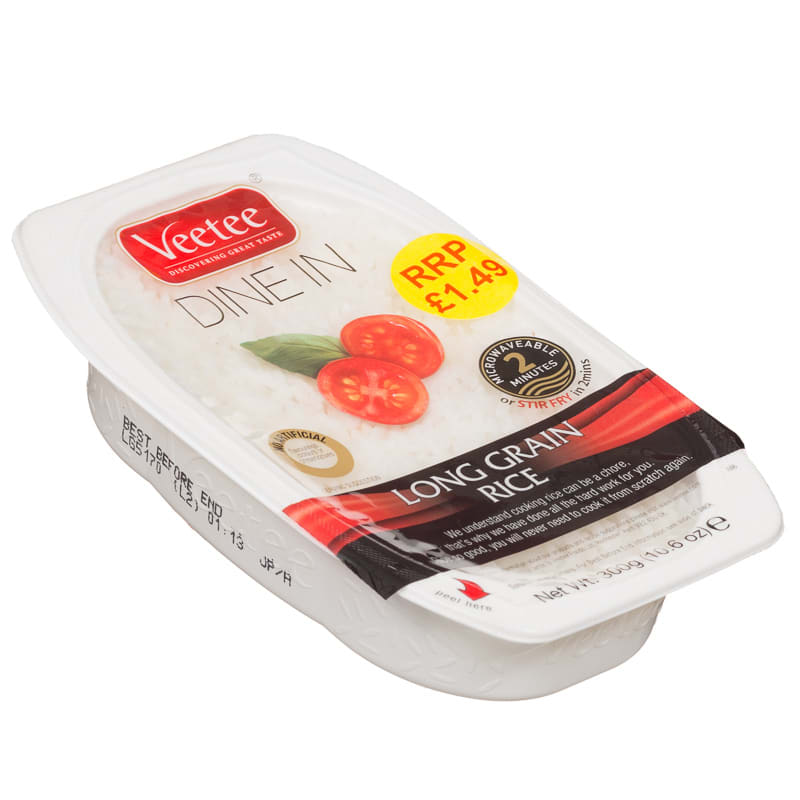 Veetee Dine In Long Grain Rice 300g