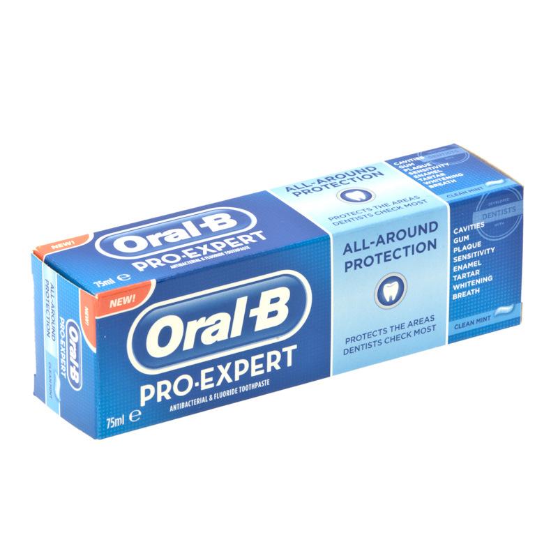 B Amp M Oral B Pro Expert Toothpaste 75ml 264019 B Amp M