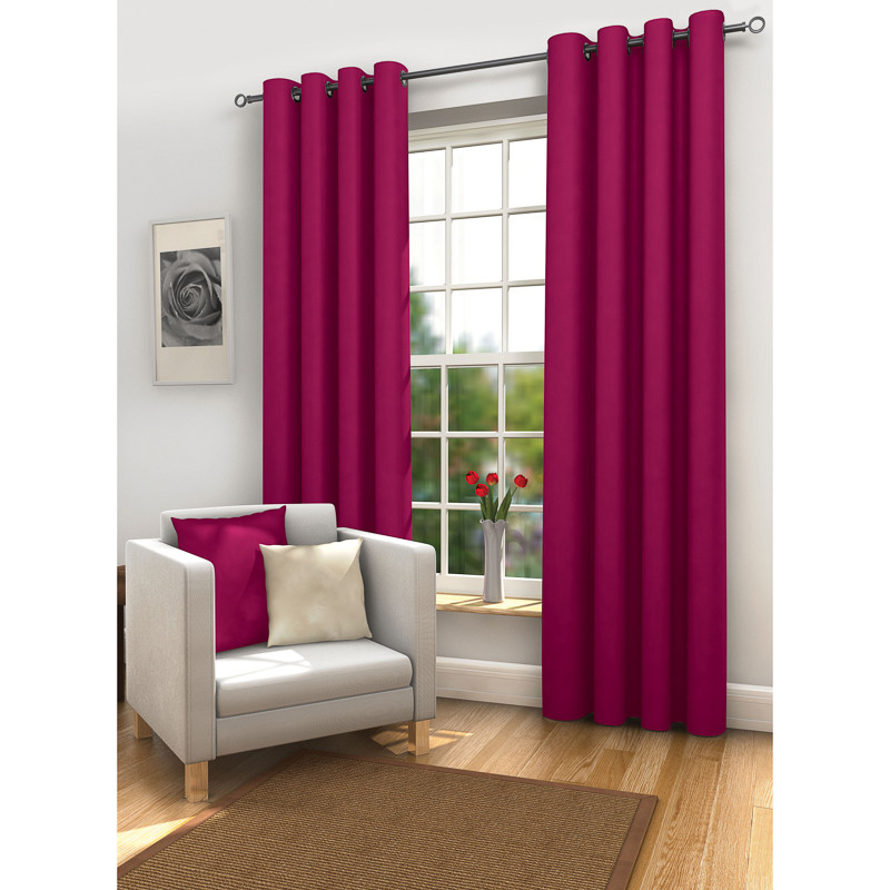 Plum Curtains