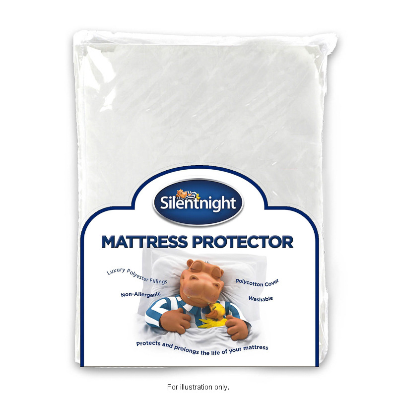 B&M Silentnight Mattress Protector King