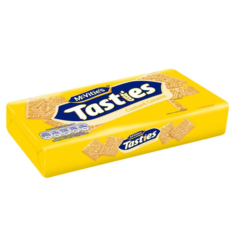 McVitie's Tasties Custard Creams 300g   Groceries   Biscuits