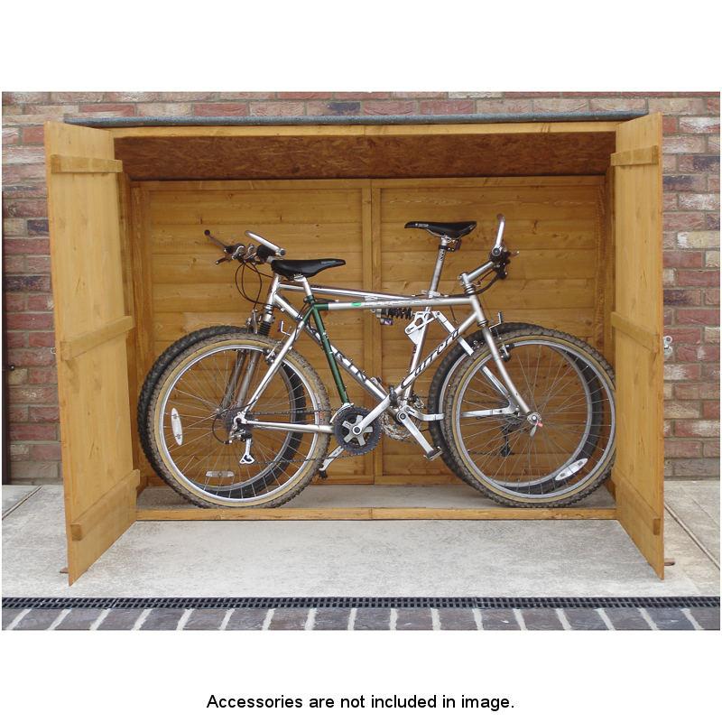 Bike storage shed for 1 bike