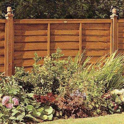 b m fence panel 6 x 3 328398 b m. Black Bedroom Furniture Sets. Home Design Ideas