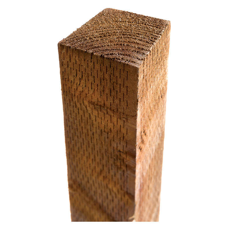 Wooden Post: B&M Timber Post 8ft - 265498