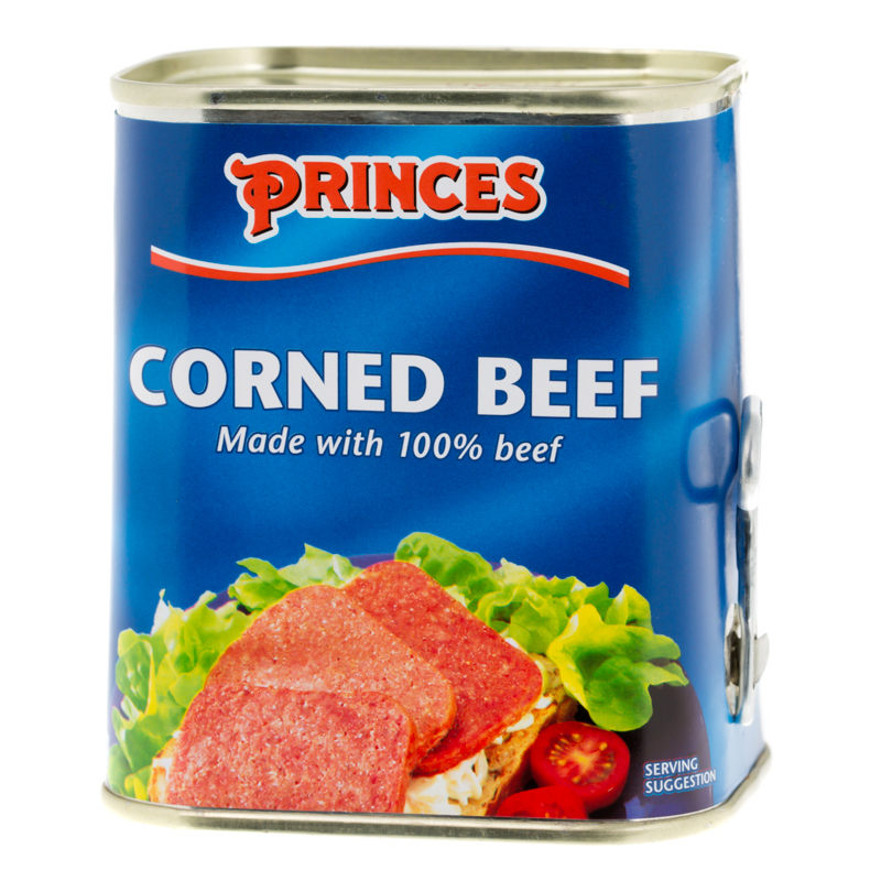 princes corned beef 325g tinned beef groceries. Black Bedroom Furniture Sets. Home Design Ideas