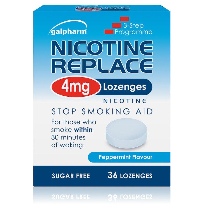 B Amp M Nicotine Lozenges 36pk 4mg 265736 B Amp M