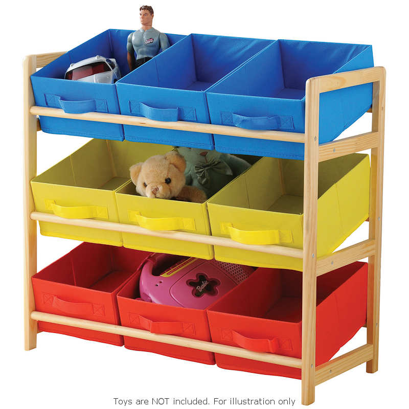 ... Home & Furniture Furniture Storage and Shelving Kids 3 Tier Storage