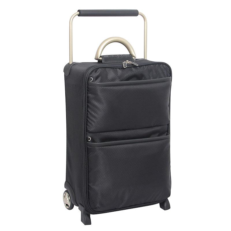 b m world 39 s lightest suitcase black 55cm luggage. Black Bedroom Furniture Sets. Home Design Ideas